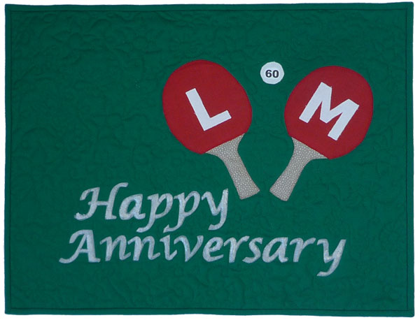 LM 60th Wedding Anniversary Quilt I don 39t have an extensive garden and I