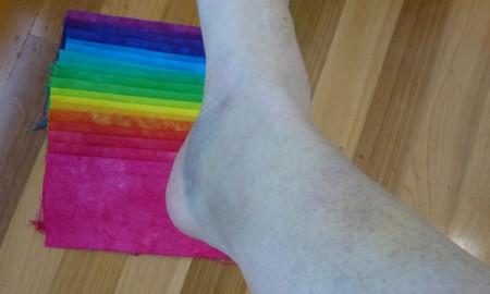 Technicolour Bruise