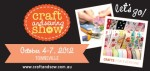 Invitation to Townsville Craft & Sewing Show: 4-7 October