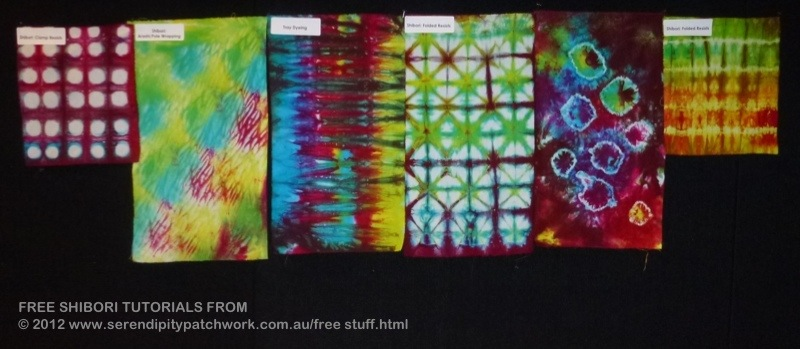 Shibori Samples