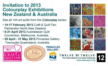 Colourplay 2013 Invitation