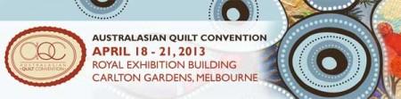 Australasian Quilt Convention 2013
