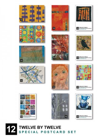 Twelve by Twelve Colourplay Postcards