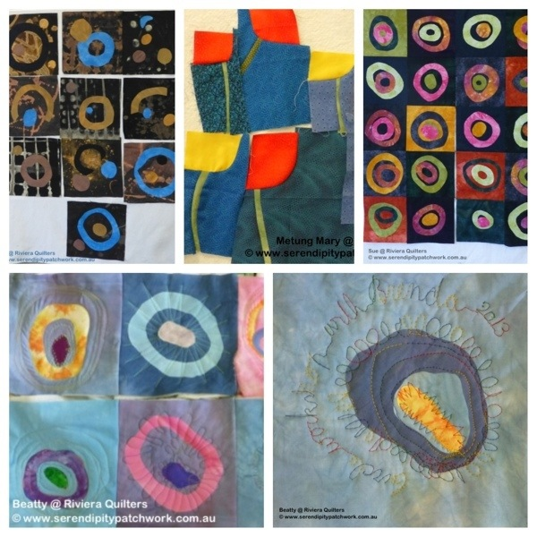 Serendipity Circles with Riviera Quilters