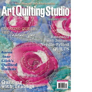 Art Quilting Studio Summer 2013
