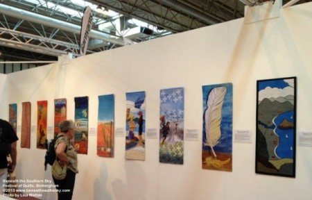 Beneath the Southern Sky @ Festival of Quilts