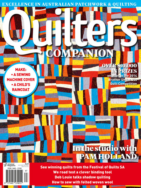 Topsy Turvy - Quilters Companion Issue 67