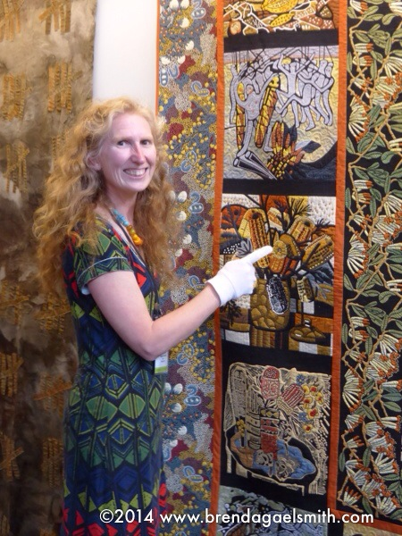 The Australia Quilts Exhibition Is Delighting Viewers At European Patchwork Meeting I Am So Proud To Represent Australian Textile Artists In This