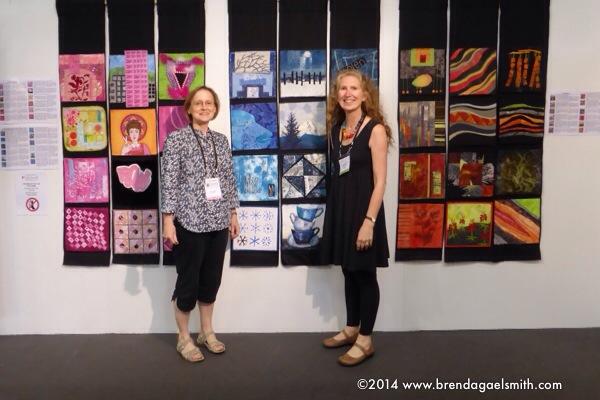 Twelve by Twelve Colourplay at the European Patchwork Meeting 2014