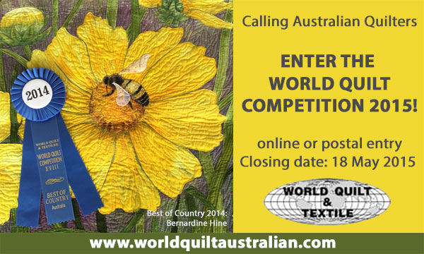 World Quilt Competition Call for Entries