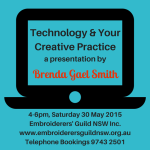 Technology Talk: 30 May 2015, Sydney
