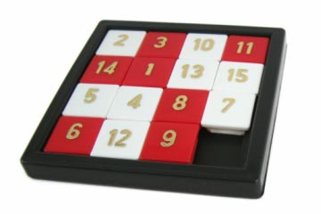Sliding square puzzle