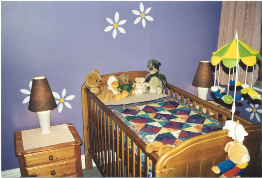 Maia's nursery - part of the Serendipity Backstory