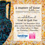 Invitation to a matter of time in Adelaide