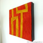 Tutorial: How to Attach Textile Art to a Stretched Canvas