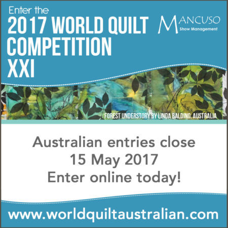 World Quilt Competition 2017 - Call for Entries