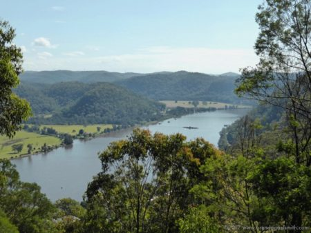 View over the Hawkesbury & Webbs Creek Ferry