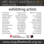 Art Quilt Australia 2017 Selection