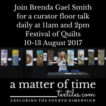 MoT curator floor talk at the Festival of Quilts