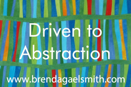 Driven to Abstraction Lecture at Festival of Quilts UK
