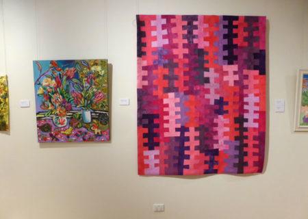 Gosford Art Prize 2017 Katerina Apale and Brenda Gael Smith