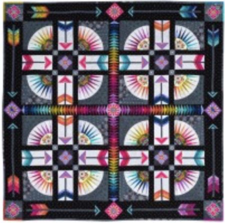 Fly by Donna Ward National Quilt Symposium 2017