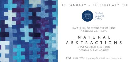 Natural Abstractions -Brenda Gael Smith solo exhibition