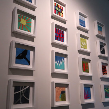 Copa Abstractions Artwork For Sale: textile sketches by Brenda Gael Smith