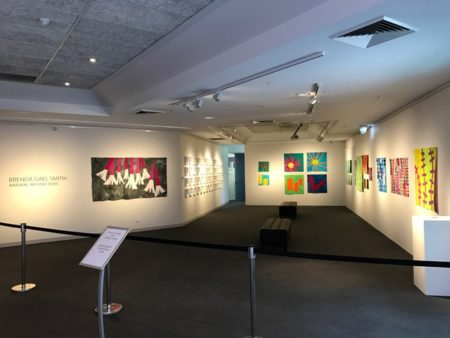 Natural Abstractions exhibition by Brenda Gael Smith at Gosford Regional Gallery