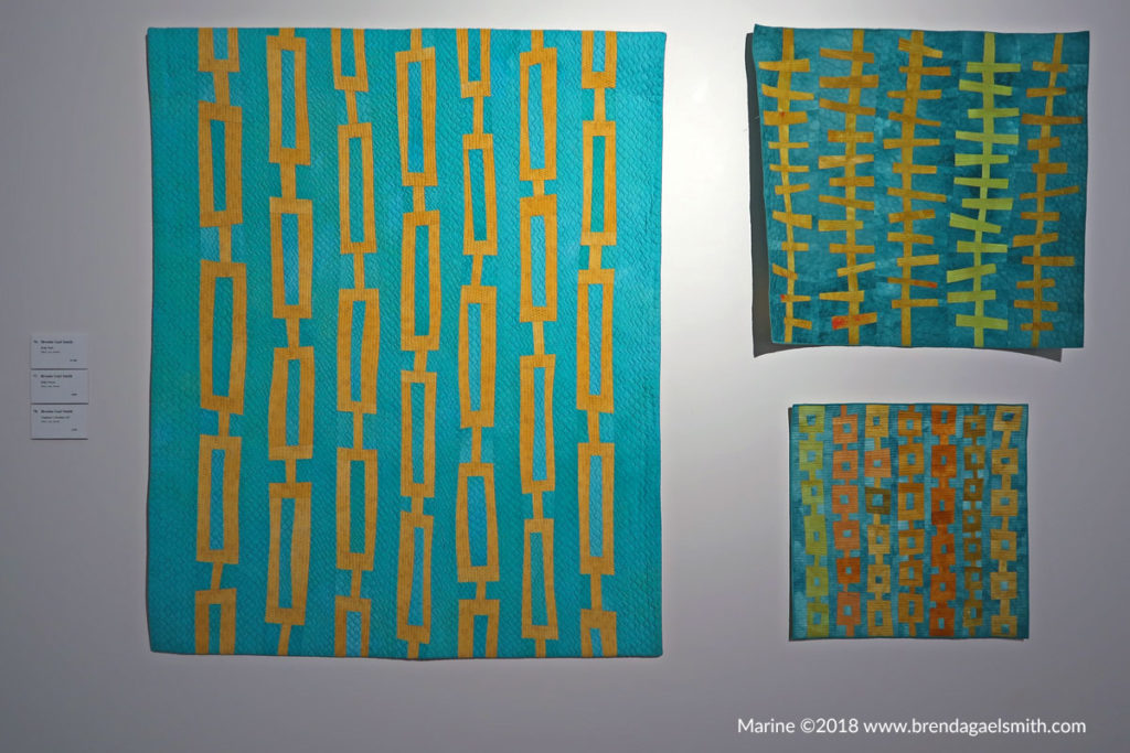 Natural Abstractions - Marine - Brenda Gael Smith- Gosford Regional Gallery