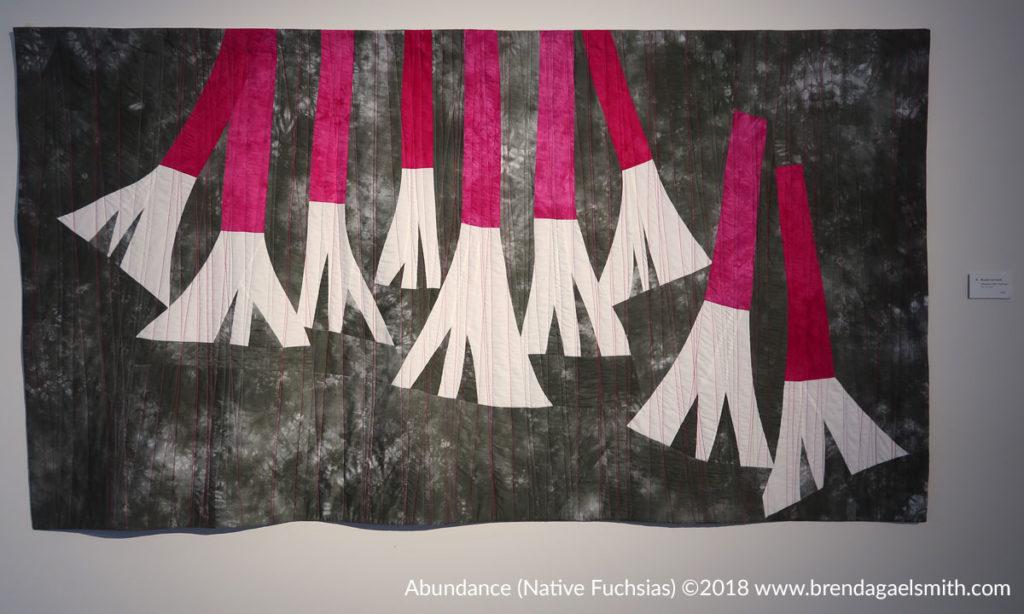 Natural Abstractions - Abundance (Native Fuchsias)- Brenda Gael Smith- Gosford Regional Gallery
