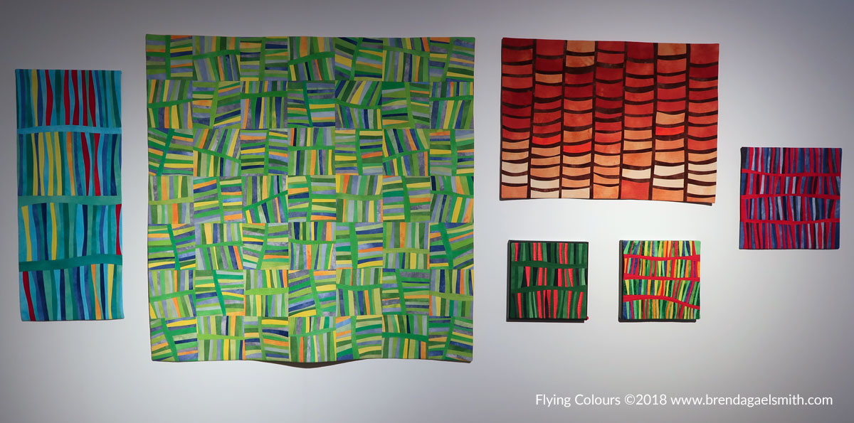 Natural Abstractions - Flying Colours- Brenda Gael Smith- Gosford Regional Gallery
