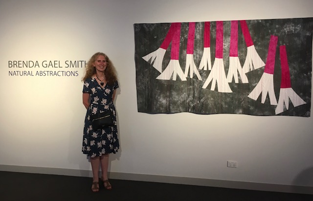 Brenda Gael Smith - Natural Abstractions Exhibition at Gosford Regional Gallery