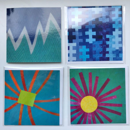 Greeting cards featuring artwork by Brenda Gael Smith
