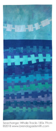 Seachange: Whale Tracks by Brenda Gael Smith