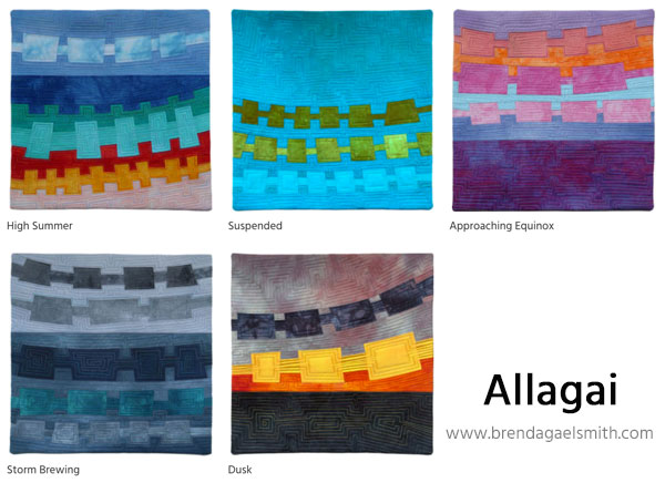 Allagai Series by Brenda Gael Smith