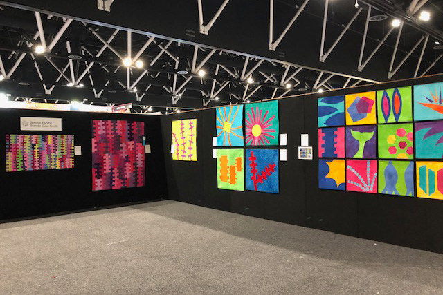 Brenda Gael Smith Special Exhibit at the Sydney Quilt Show