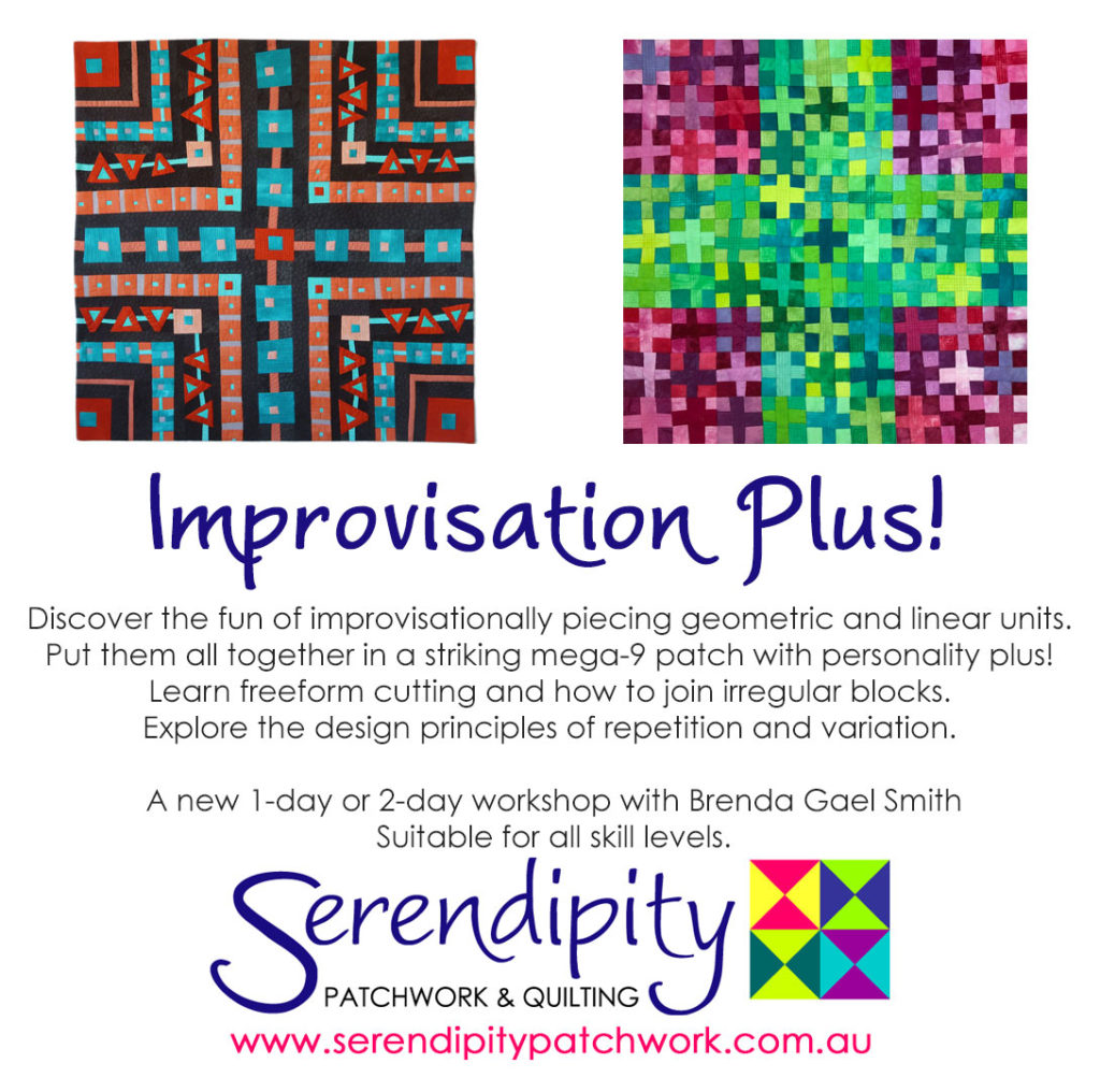 Improvisation Plus - a serendipity workshop with Brenda Gael Smith
