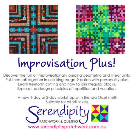 Improvisation Plus - a serendipity workshop with Brenda Gael Smith