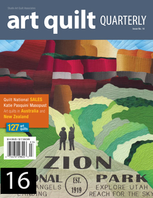 Art Quilt Quarterly Issue 16 Cover