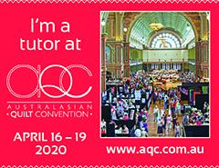 I'm a tutor at AQC 2020