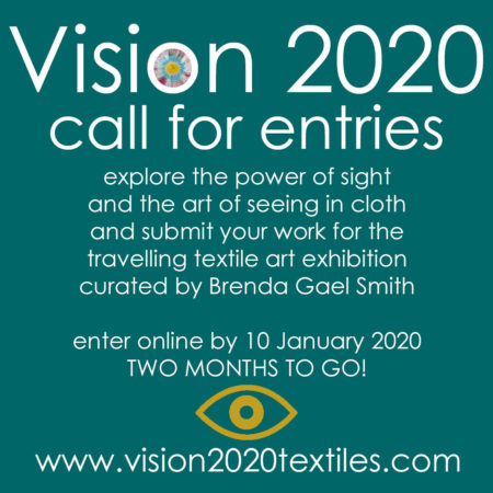 Call for Entries Vision 2020 - 2 month reminder
