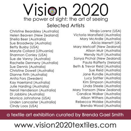 Vison 2020 Artists