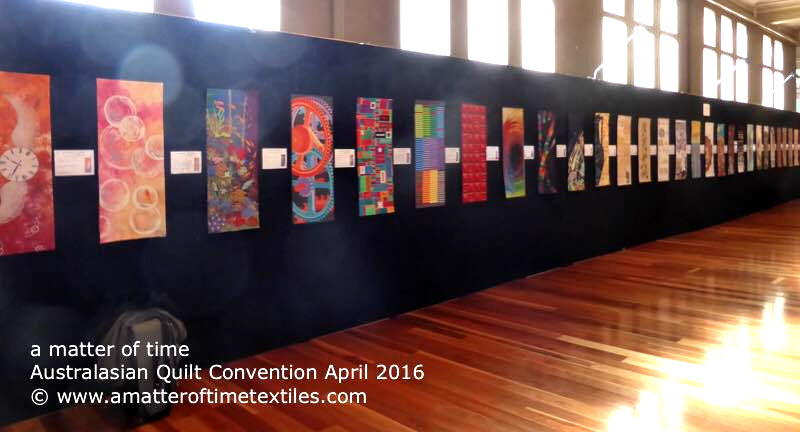 a matter of time Australasian Quilt Convention 2016