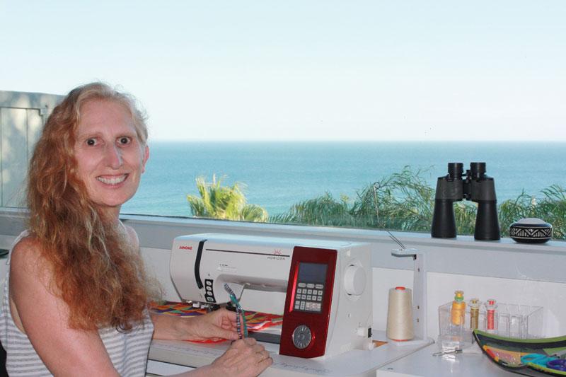 Brenda Gael Smith in the Serendipity Studio