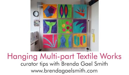 Hanging Multi-part Textile Works